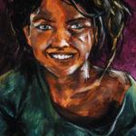 cours portrait acrylique